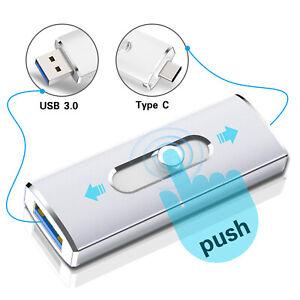 32GB Type C USB 3.0 Flash Drive OTG Memory Stick Thumb Drive 2-in-1 Pen Drive