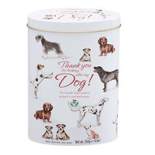 Gardiners 'Thank you for Looking After My Dog' Scottish Vanilla Fudge Tin 250g