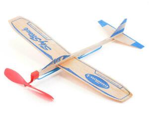 F50 SKY STREAK Balsa Rubber Power Free Flight Model Airplane Kit Guillow's