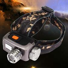 Bright CREE T6 LED 2000LM Headlamp Headlight Zoomable Head Torch 18650 Light WT