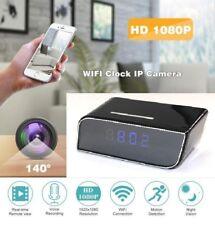 Digital Alarm Clock HD Hidden WiFi Camera with Built-In DVR Nanny Cam