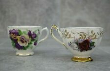 Royal Vale/Queen Anne Bone China 2 Tea Cups