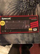 Redragon K552 KUMARA RED LED Backlit Mechanical Gaming Keyboard - Black