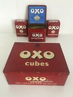 Vintage Oxo Cube 75th Anniversary Diamond Jubilee 1910-1985 Tin Box Ultra Rare++