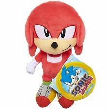 "Sonic the Hedgehog ~ 7"" KNUCKLES PLUSH FIGURE ~ Official JAKKS Pacific Plushie"