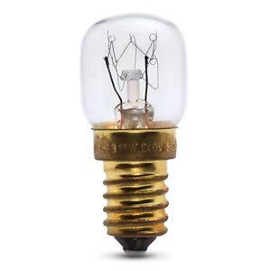 15w oven lamp for Bosch oven 240v 300° Heat resistant. SES (E14)