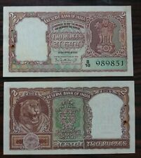 100 Rupees India K.R Puri COBALT BLUE @ Uncirculated Condition G-34