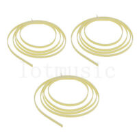 3pcs 5 Feet cream twill Celluloid 6 width  x 1.5mm Thick Guitar Binding Purfling