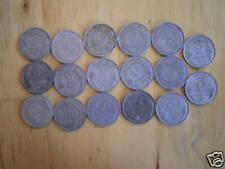 beau lot de 17 pieces 2 francs morlon alu