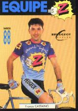 FRANCIS CASTAING cyclisme card carte Equipe Cycling Cycliste Z PEUGEOT 88