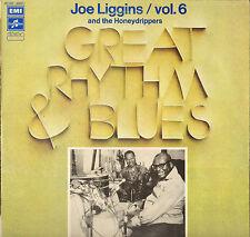 "JOE LIGGINS / JOHNNY OTIS ""THE HONEYDRIPER"" RHYTHM AND BLUES LP 1975"