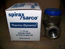 1 Spirax Sarco TD-52 New Cool Blue SS Steam Trap