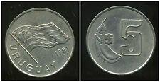 URUGUAY  5 nuevo pesos 1981