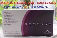 (6) Jeunesse Reserve Antioxident Fruit Blend w/ Resveratrol - 180 Pkts. Exp 2019