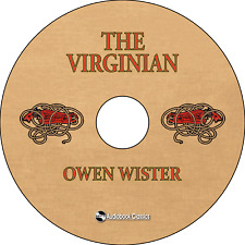 The Virginian - MP3 CD Audio book in security sleeve