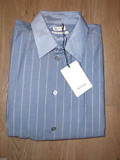 Paul Smith Men's Striped Long Sleeve Collared Casual Shirts & Tops