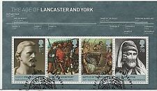"2008 ""Kings & Queens CASE DI LANCASTER & York 'SG MS2818-Fine USATO"