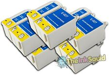 10 T026/27 non-OEM Ink Cartridges For Epson Stylus Photo Printer 810 820 830