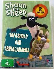 SHAUN THE SHEEP Washday and Abracadabra 2 disc DVD set All Regions