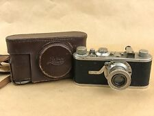 Leica I Model A # 42497 w/ 50mm F/3.5 Elmar Vintage 1930 Camera - Rare