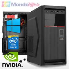 PC Computer Intel i7 7700K 4,2 Ghz - Ram 32 GB - SSD - HD 1 TB - nVidia GTX 1060