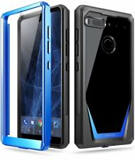 Poetic Guardian【Scratch Resistant Back】Case For Essential Phone PH-1 Blue