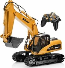 Large RC Digger Toy Remote Control Truck Excavator Construction Tractor Replica