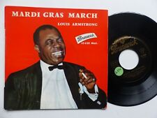 LOUIS ARMSTRONG Mardi gras march  10620 FRANCE   RRR