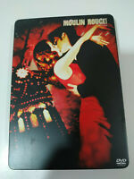 MOULIN ROUGE 2 X DVD STEELBOOK NICOLE KIDMAN EWAN MCGREGOR Español Ingles