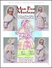 """Mon Bon Manteau"" Fashion Pattern for 11"" Leeann Dolls"