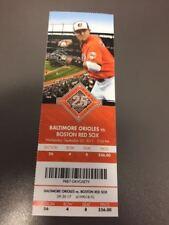 Tanner Scott MLB Debut Orioles Red Sox MINT Season Ticket 9/20/17 2017 Stub Sale