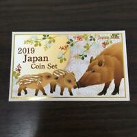 JAPAN MINT 2019 Japan Coin Set The Last Year of Heisei era In Case New