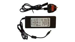 POWER SUPPLY ADAPTER 12V 10A 120W TRANSFORMER FOR LED STRIP SMD5050 RGB CCTV UK
