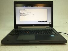 New listing Hp EliteBook 8570w Laptop Parts/Repair Boots Core i7-3630Qm 8Gb Ram - No Battery