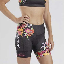 ZOOT - Women's LTD Tri 8 inch short - Aloha - MEDIUM