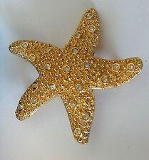 Swarovski Star Fish Brooch Nib Beautiful