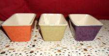 Longaberger 3 Autumn Rectangular Modular Bowls! A+ Cond! L@K! Buy It Now!