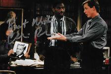 "Charles Robinson ""Mac"" signed Night Court RARE COA LOOK!"