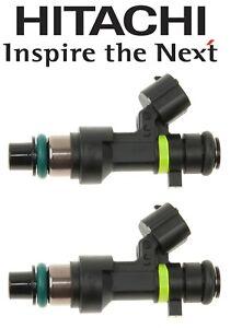 Hitachi FIJ0026 Set pair of 2 Fuel Injectors for Nissan Cube NV200 Sentra Versa