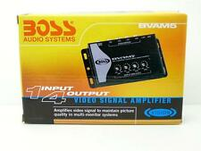 BOSS Video Signal Booster/Amplifier for Car LCD/TV/Monitor, 1 input to 4 output