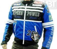 Modeka Giacca Motociclista SPIRIT nero blu Tessuto Cosa repellente acqua XS
