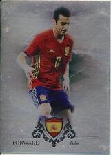 FUTERA 2016 PEDRO SPAIN 19/21 SILVER PARALLEL FOOTBALL CARD