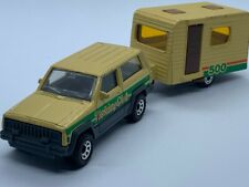 MATCHBOX TP-116 TWO PACKS JEEP CHEROKEE & CARAVAN - RARE