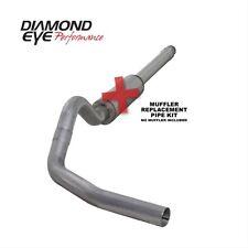 "Diamond Eye K4310A-RP 4"" Cat-Back Exhaust, Single, Alum, For 94-97.5 Ford 7.3L"