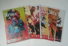Uncanny X-Force (Marvel Comics) (2012-2013) #1-6 Lot
