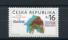 Czech Republic 2016 MNH Paralympic Games Rio 2016 1v Set Paralympics Stamps