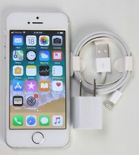 iPhone SE 64GB  Silver White ( Unlocked ) GSM CDMA A1662 SB360 - Good
