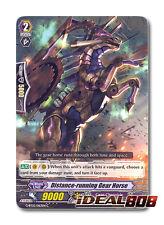 Cardfight Vanguard  x 4 Distance-running Gear Horse - G-BT02/063EN - C Pack Fres