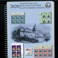 2020 US Stamp Society Durland Standard Plate Number Catalogue - 437 pages
