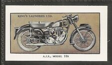 KINGS LAUNDRIES-MODERN MOTORCYCLES-#19- AJS MODEL 18S